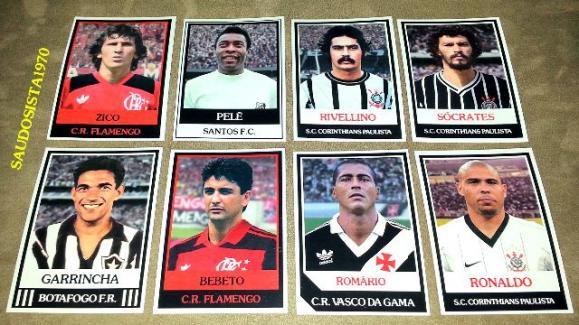 MG Os 101 Maiores Goleadores Brasileiros de Todos os Tempos