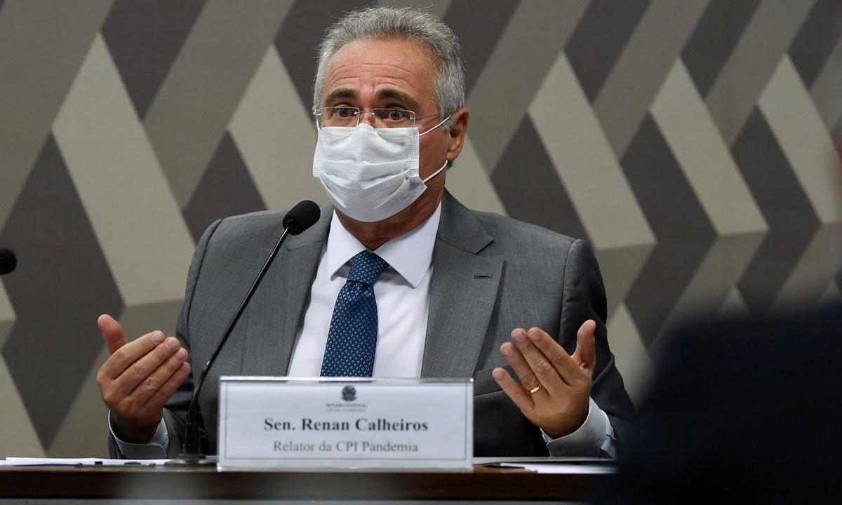 Renan-Calheiros O Corrupto Renan Calheiros Continua a Dar as Cartas