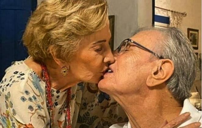 beijo-tarcisio-e-gloria-men A Arte de Luto: Morre Tarcísio Meira